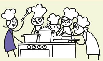 Kochen mit Patienten medidoc