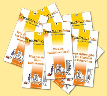 """Info-Flyer: Medidöc-chen: """"Die kleinen Helfer"""" für die Kitteltasche"""