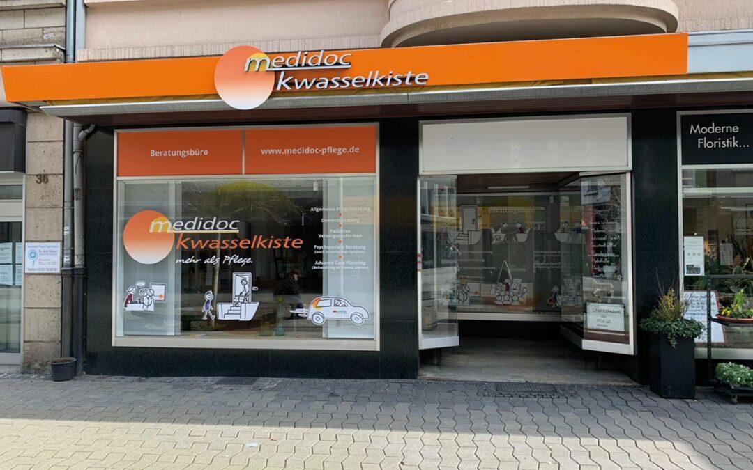 Kwasselkiste – medidoc-Beratungsläden in Rheinhausen und Oberhausen nehmen Arbeit auf